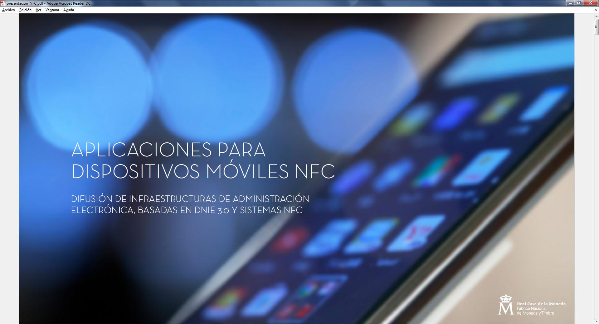 Abre ventana nueva. Aplicaciones para dispositivos NFC